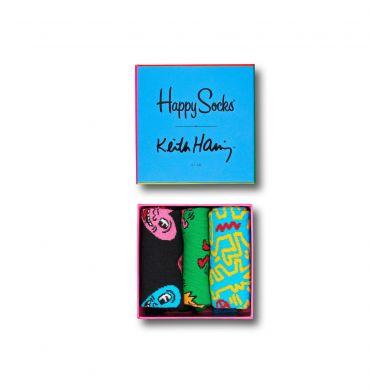 Darčeková krabička Happy Socks x Keith Haring