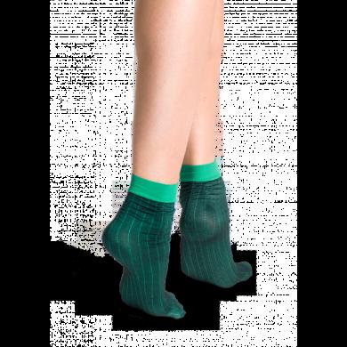 Zelené ponožky Happy Socks Ancle