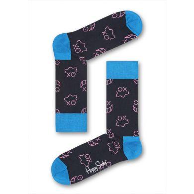 Černé ponožky Happy Socks Mr. A // Kolekce André