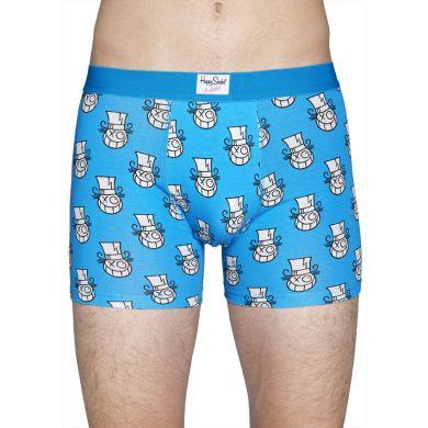 Modro-bílé boxerky Happy Socks Mr. A // Kolekce André
