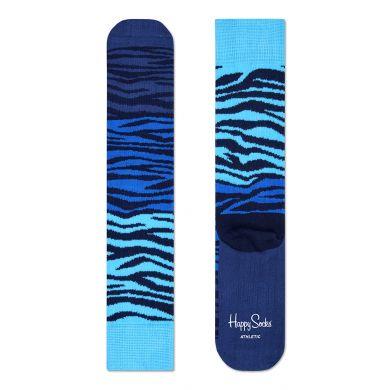 Barevné ponožky Happy Socks se vzorem Zebra // kolekce Athletic