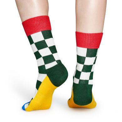 Barevné ponožky Happy Socks, vzor Flag // kolekce Athletic + Royal Enfield