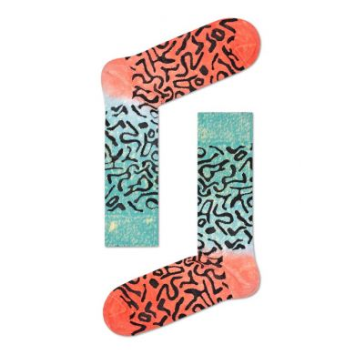 Barevné pruhované ponožky Happy Socks, vzor Artsy