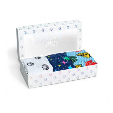 Darčekový box trenírok Happy Socks Billionaire Boys Club - 3 páry