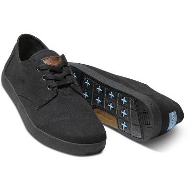 Černé pánské tenisky TOMS Black Paseos