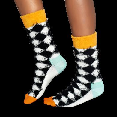 Barevné ponožky s károvaným vzorem Check Multi // kolekce Special Special