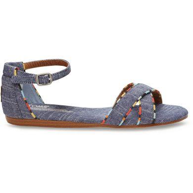 Džínové dámské sandálky TOMS Correa
