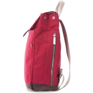 CHILI WAXED CANVAS BACKPACK