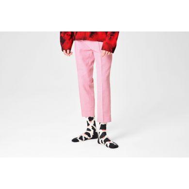 Čiernobiele ponožky Happy Socks s kravím vzorom Cowzy