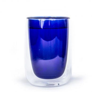 Modrý termo pohár Fundamental Berlin Doppler Glass
