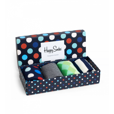 Gift Box 4-pack-Dots
