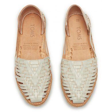 Dove Leather Huarache