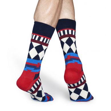 Barevné ponožky Happy Socks se vzorem Disco Tribe