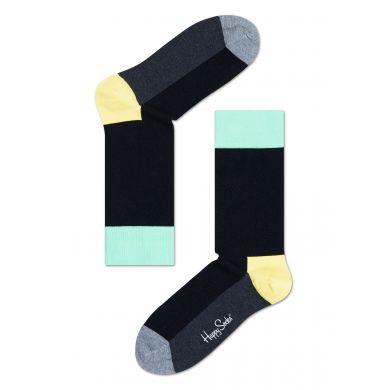 Černé ponožky Happy Socks s barevným vzorem Five Color