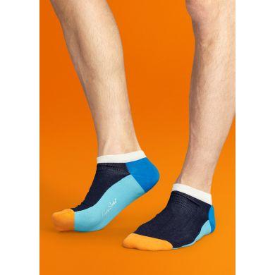 Nízké barevné ponožky Happy Socks se vzorem Five Color