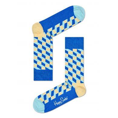 Farebné ponožky Happy Socks so vzorom Filled Optic