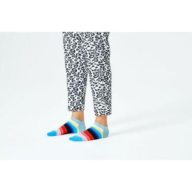 Farebné nízke ponožky Happy Socks s pruhmi, vzor Gradient