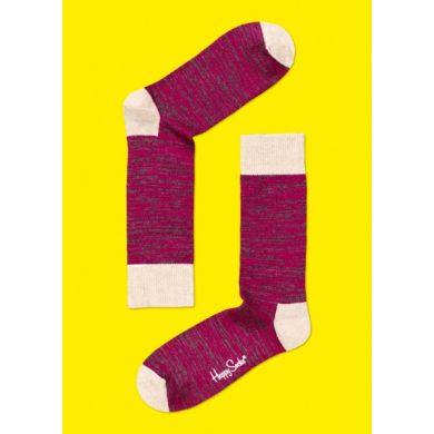 Růžové ponožky Happy Socks Hemp