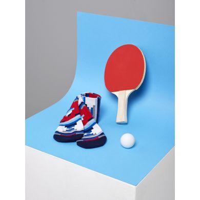 Barevné ponožky Happy Socks se vzorem Stripe Off // kolekce Athletic
