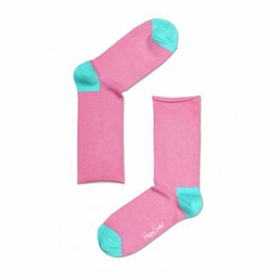 Růžovo-modré ponožky Happy Socks