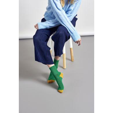 Dámske zelené ponožky Happy Socks Marina // kolekcia Hysteria