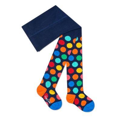 Detské farebné punčochy Happy Socks se vzorom Big Dot