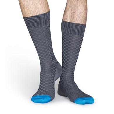 Šedé ponožky Happy Socks // kolekce Dressed
