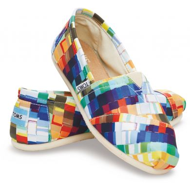 Multi Satin Paint Chips Women's Classics