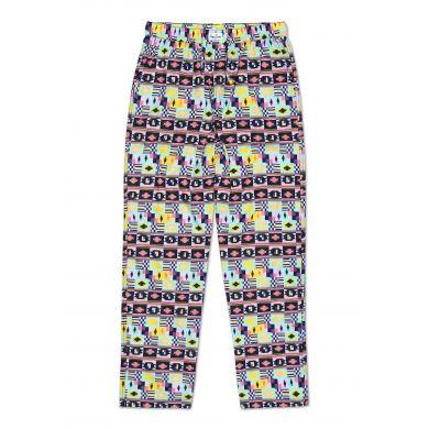 Barevné kalhoty Happy Socks se vzorem Patch Inca