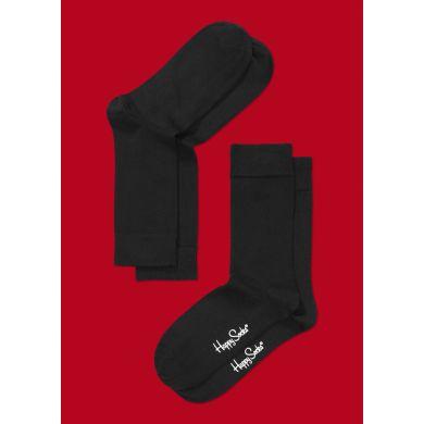 Černé ponožky Happy Socks