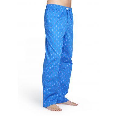 Modré kalhoty Happy Socks s barevnými čárkami, vzor Sprinkels
