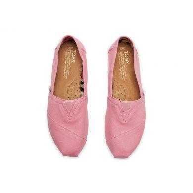 Růžové dámské TOMS Classic Alpargata