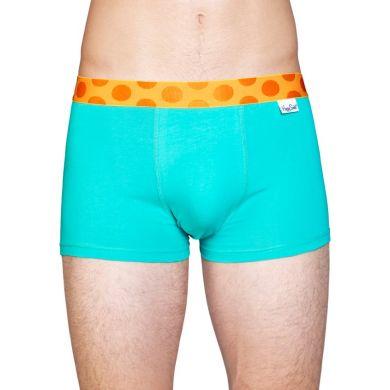 3x Solid boxerky Happy Socks, farebné