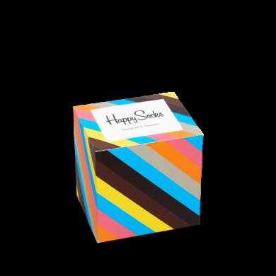Gift Box Polka Stripes