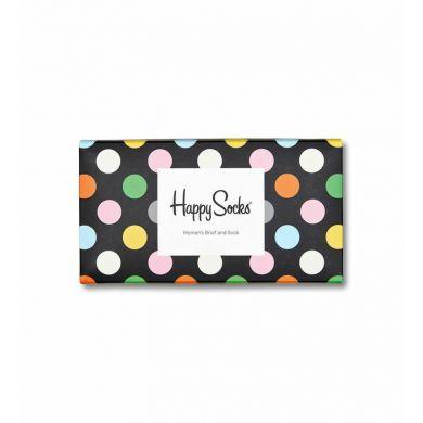 Darčekový box ponožiek a prádla Happy Socks Combo Brief - 2 páry