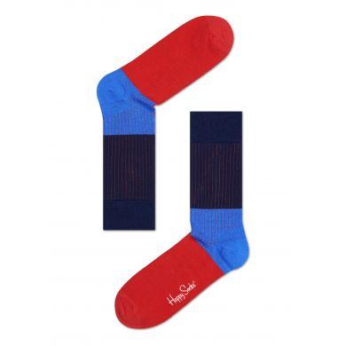 Barevné ponožky Happy Socks se vzorem Rib Block