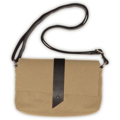 Béžová plstěná kabelka TOMS