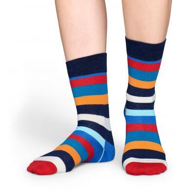 Farebné pruhované ponožky Happy Socks, vzor Stripe