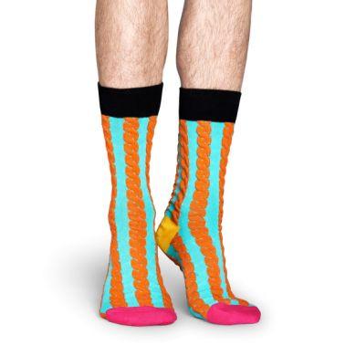 Barevné ponožky Happy Socks, vzor Embossed Cable // kolekce Special Special