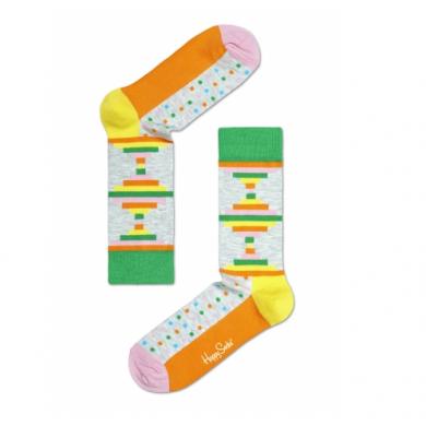 Barevné ponožky Happy Socks s inckým vzorem