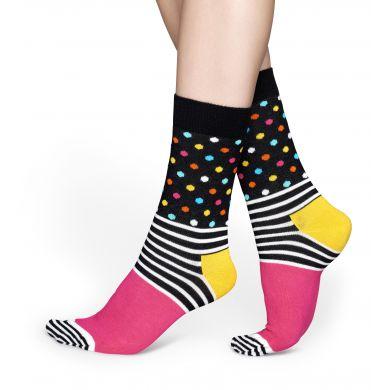 Farebné ponožky Happy Socks se vzorom Stripe Dot