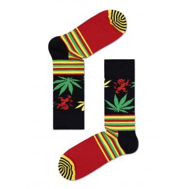 Ponožky Happy Socks Snoop Dogg Stripes & Plants