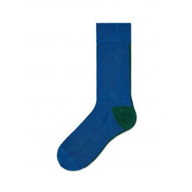 Dámske modré ponožky Happy Socks Gigi // kolekcia Hysteria
