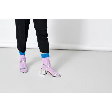 Dámske fialové ponožky Happy Socks Judit // kolekcia Hysteria