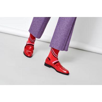 Dámske fialové ponožky Happy Socks Lulu // kolekcia Hysteria