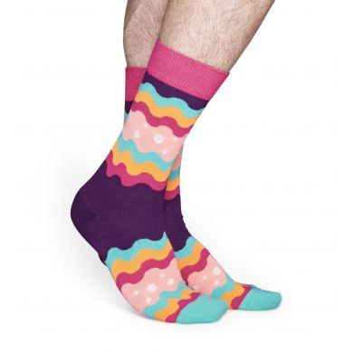 Barevné ponožky Happy Socks, vzor Soda Pop