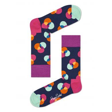 Barevné ponožky Happy Socks, vzor Spectrum