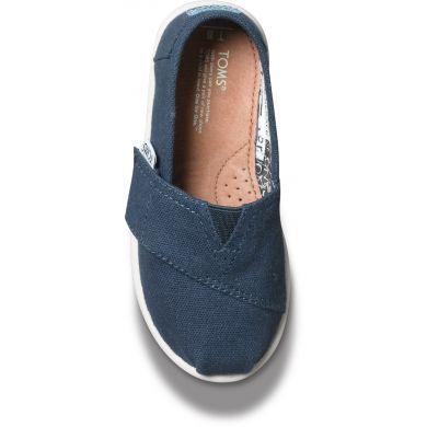 Detské modré TOMS Tiny Alpargatas