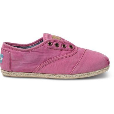 Růžové dámské tenisky TOMS Cordones