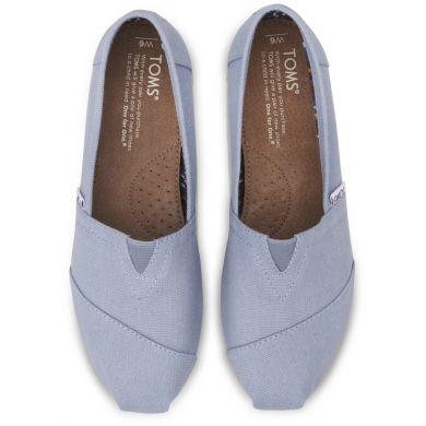 Modré dámské TOMS Classic Alpargata